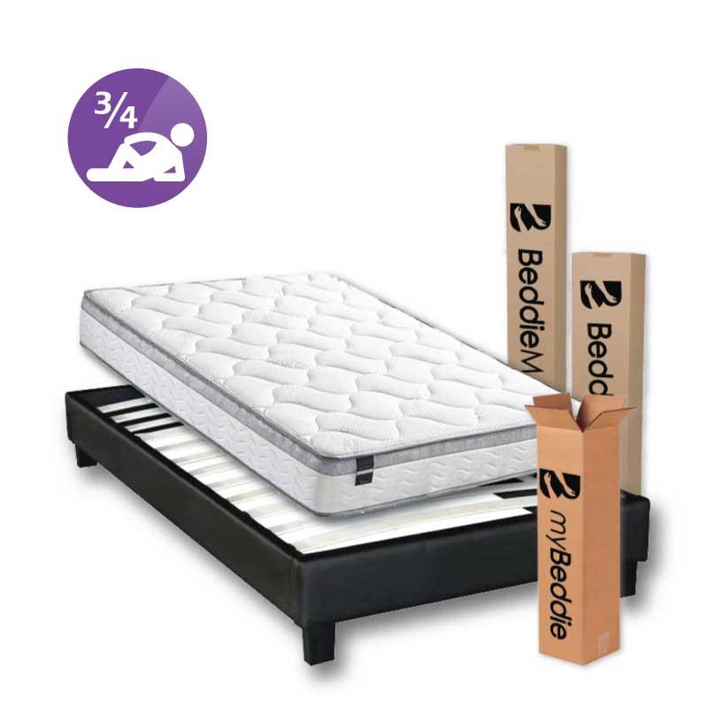 3-4 mattress and base